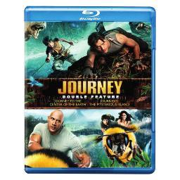 Journey to center of earth/journey 2-mysterious island (blu-ray/dbfe) BRN446624