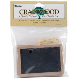 "Framed Chalkboards 3/Pkg 2""X3"""
