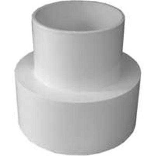 Genova Products 41540 Pvc Sewer & Drain Vinyl & Clay Adapter 4 In.