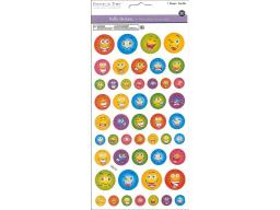 Mulss319 a multicraft sticker 3d puffy emoji