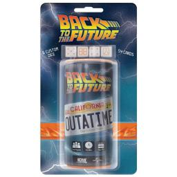 IDW Publishing IDW01026 Back to the Future Outatime Dice Game