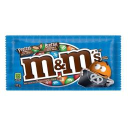 M&M 7016 Pretzel Milk Chocolate Candy, Case Of 24