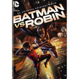 BATMAN VS ROBIN (DVD/FF/ANIMATED DC UNIVERSE ORIGINAL MOVIE) 883929394098