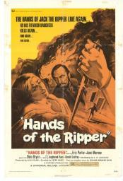 Hands of the Ripper Movie Poster (11 x 17) MOVGE4993