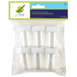 Mix & Store Cups 6/Pkg-.7oz PA820