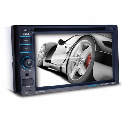 BOSS AUDIO SYSTEMS BV9372BI Bluetooth Enabled Double-DIN In-Dash DVD-MP3-CD Receiver