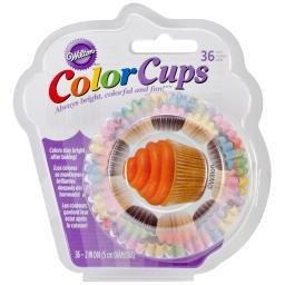 ColorCup Standard Baking Cups-Cupcakes 36/Pkg W2150