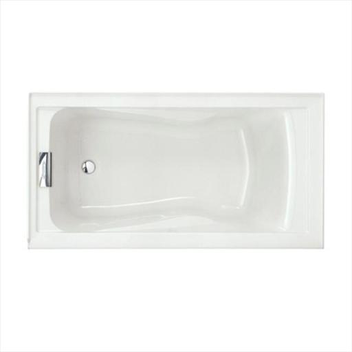 American Standard 2425V-LHO.002.020 Evolution 5 ft. Left Drain Acrylic Soaking Tub in White