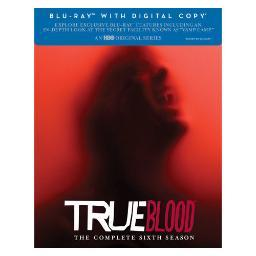 True blood-complete 6th season (blu-ray/dc/uv/4 disc) BR427937