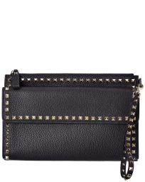 Valentino VLogo Small Leather Pouch