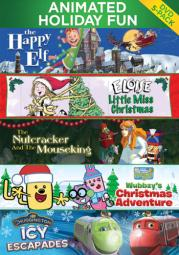 Animated holiday giftset (dvd/5 disc) D62507D