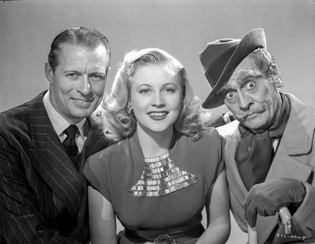 A publicity still for Dick Tracy Photo Print