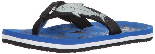 Reef Kids Sandals Ahi Flip Flops for Toddlers, Boys, Girls with Soft Cushio.