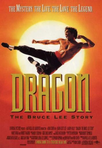 Dragon: The Bruce Lee Story Movie Poster Print (27 x 40) HOJI23OM3VPFPFIB