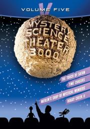 Mystery science theater 3000 v (dvd/ws/4 disc)
