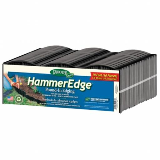 Dalen Products Incorporated DALE316B Dalen Gardeneer Hammer Edge Bundles 18 in. Black