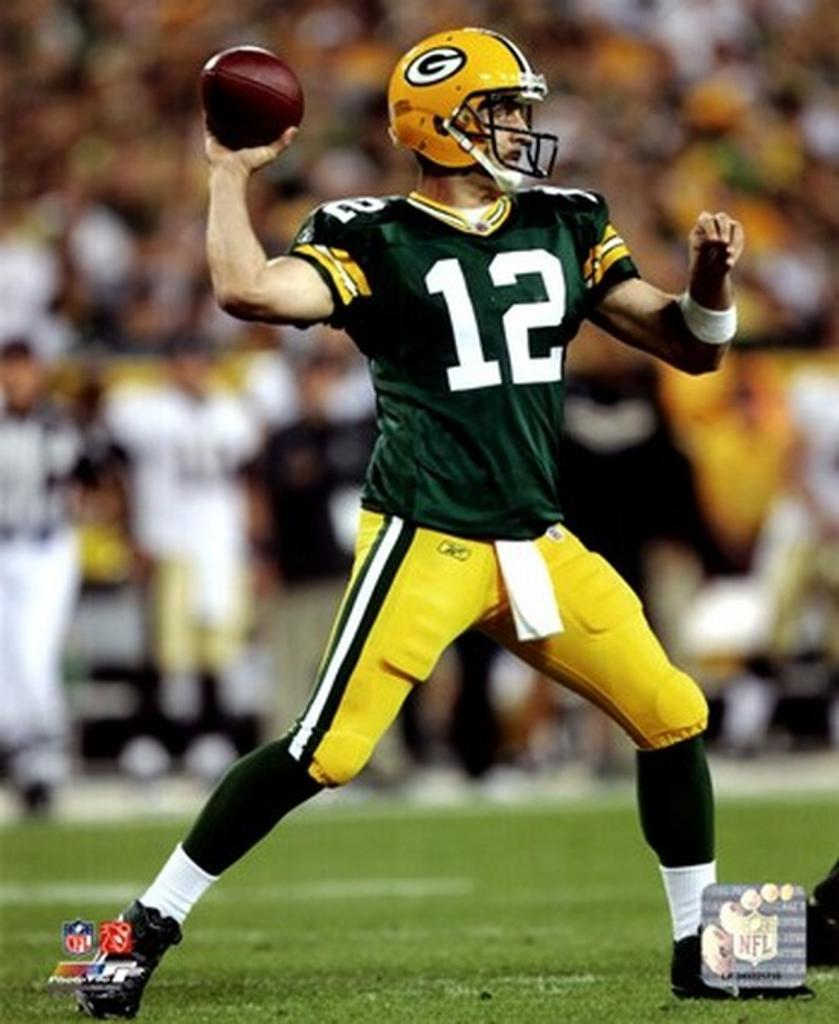 Aaron Rodgers 2011 Action Sports Photo