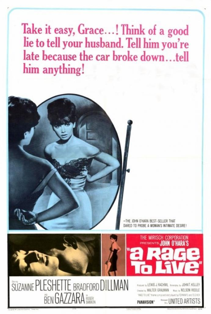 A Rage to Live Movie Poster Print (27 x 40)