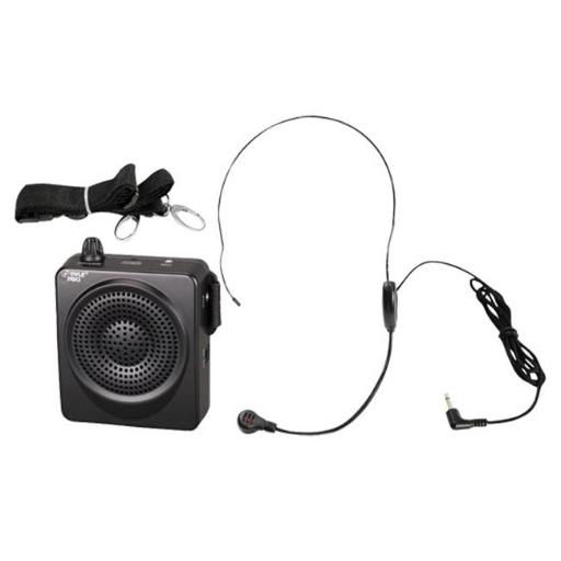 Pyle USA TW7090 Compact & Portable Waist-Band PA Speaker System - Voice Amplifier & Microphone Headset