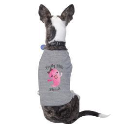Pretty Little Ghoul Halloween Shirt Cotton For Small Pet Owner Gift