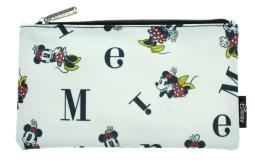 Disney Minnie Mouse Pencil Case Pouch Holder Letters Print