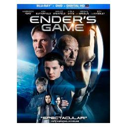 Enders game  (blu ray/dvd w/digital hd ultraviolet) BR66130215