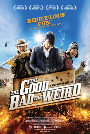 The Good, the Bad, the Weird Movie Poster (11 x 17) AJEWWIRU9RMJK4UL