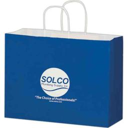 AAB 3G16613 16 in. x 13 in. Gloss Paper Shopping Bag - Pack of 250