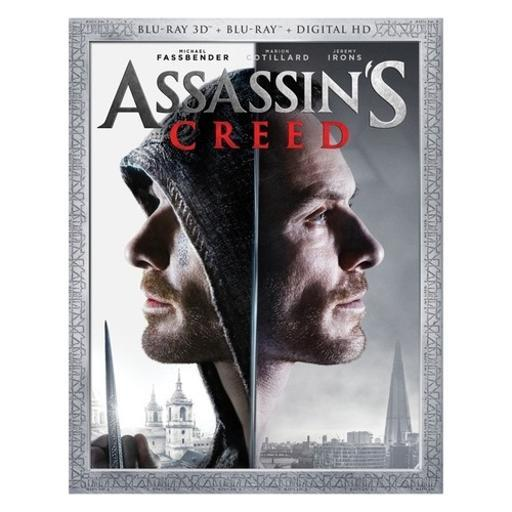 Assassins creed (2016/blu-ray/3d/2 disc/digital hd) (3-d) W65M8OXHKXKEMYH5
