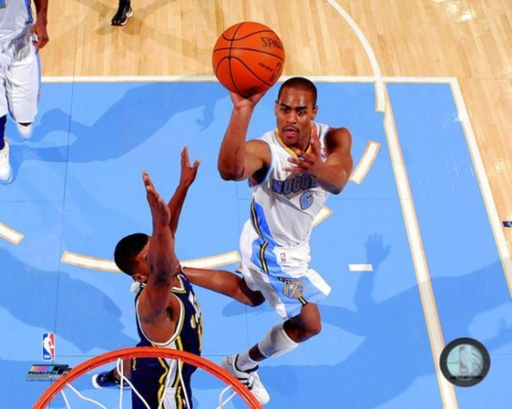 Aaron Afflalo 2010-11 Action Photo Print