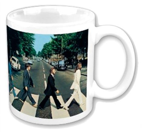 The Beatles Abbey Road Coffee Mug 12 oz. Ceramic Rock Music