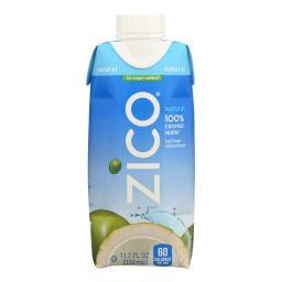 Zico Coconut Water Coconut Water - Natural - Case of 12 - 330 ml