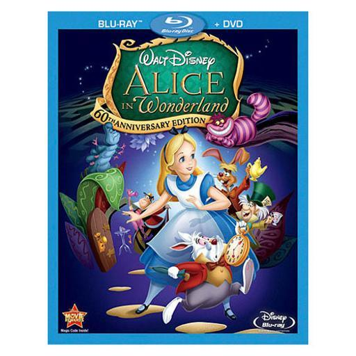 Alice in wonderland-60th anniversary edition (blu-ray/dvd/combo) BOOCY4XVDZGOUDCC