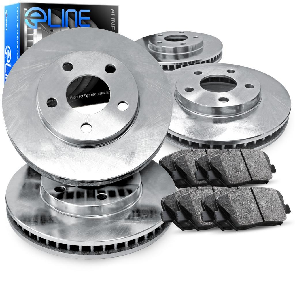 FITS 2013 2014 2015 2016 Mitsubishi RVR Drilled Brake Rotors CERAMIC BLK