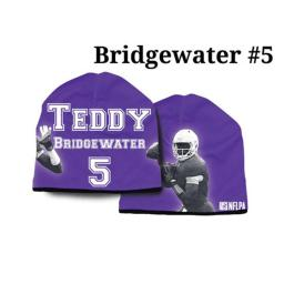 Minnesota Vikings Teddy Bridgewater Beanie - Lightweight