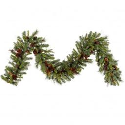 Vickerman G118714 9 ft. X 14 in. Cibola Mix Berry Garland285Tips