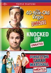 40 year old virgin/knocked up/forgetting sarah marshall(dvd-nla D61124316D