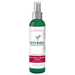 Vet'S Best 3165810090 Green Vet'S Best Bitter Cherry Dog Deterrent Spray 7.5Oz Green 2 X 2 X 7.25