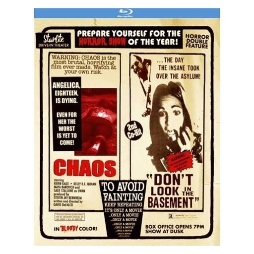 Chaos/dont look in the basement (blu-ray/2005/1973/ws 1.78/double feature) ECRKQYVPGXSO89KB