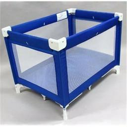 L A BABY 89 L. A.baby large commercial grade playyard- Blue