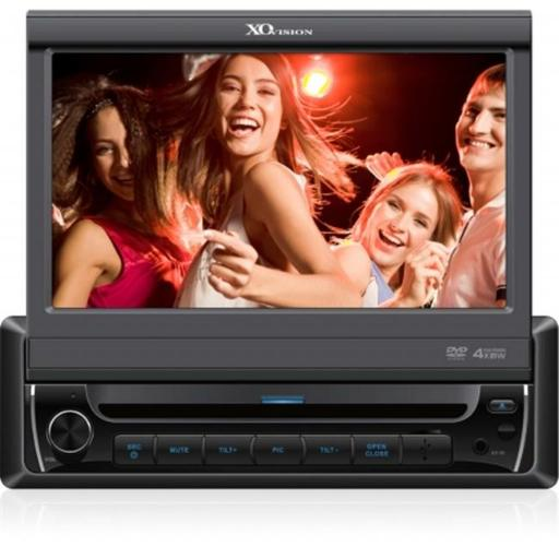 Xo Vision Car Stereo 7 in. Dvd Receiver Touchscreen - Black - X341BT