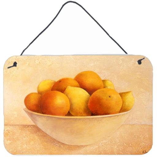 Carolines Treasures BABE0085DS812 Oranges & Lemons in a Bowl Wall or Door Hanging Prints