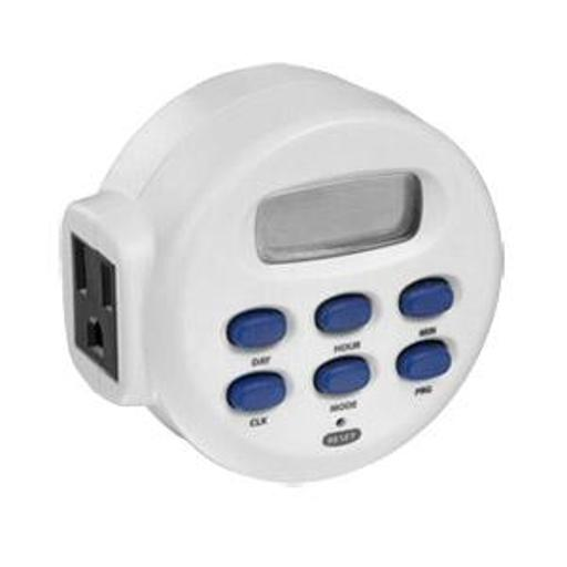 Westekte55whb1 Outlet Digital Timer - White