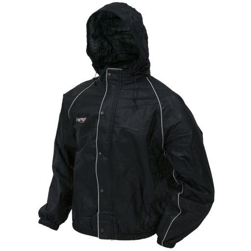 Frogg toggs ft63132-01md frogg toggs ft63132-01md road toad reflective jacket blk md TW0FSOELPOGQS0OZ