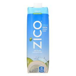 Zico Coconut Water Coconut Water - Natural - Case of 12 - 1 Liter