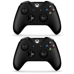 2-pack-microsoft-xbox-one-s-bluetooth-wireless-controller-black-6cl-00001-omoamjkovxe9lvlf