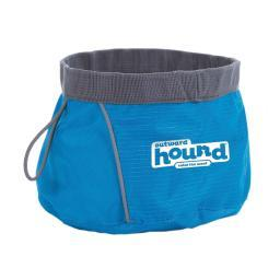 Outward Hound 23002 Blue Outward Hound Port-A-Bowl 48Oz. Medium Blue 6 X 6 X 3.5