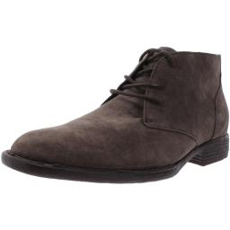 Born Mens McNeil Suede Lace-Up Chukka Boots