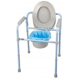 Carex Health Brands B34100 Deluxe Folding Commode