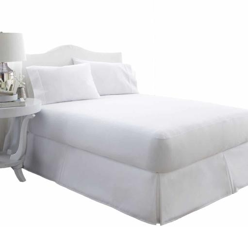 Soft Essentials Premium Waterproof Terry Cotton Top Mattress Protector - White - Cal King(Pack Of 8)